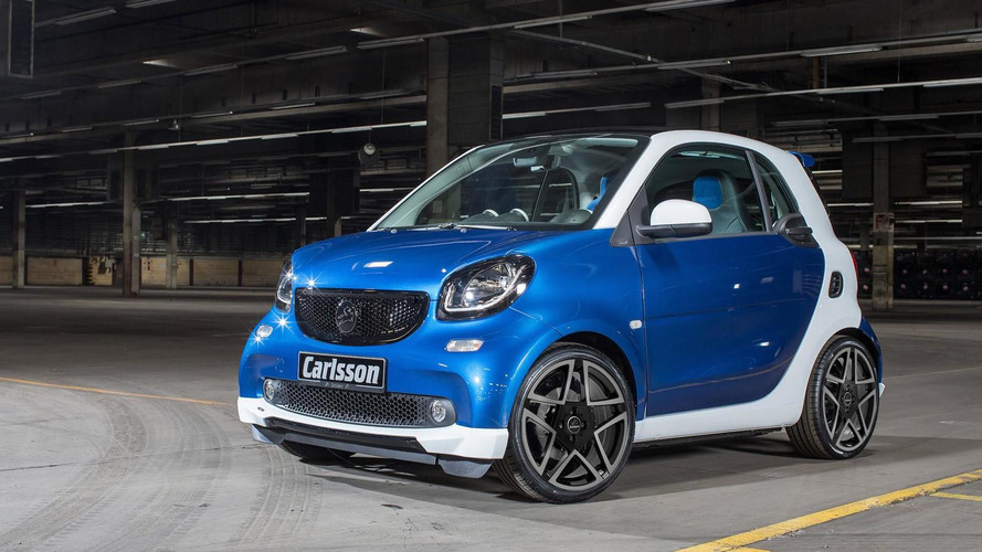 Smart ForTwo customized by Carlsson for Geneva Motor Show