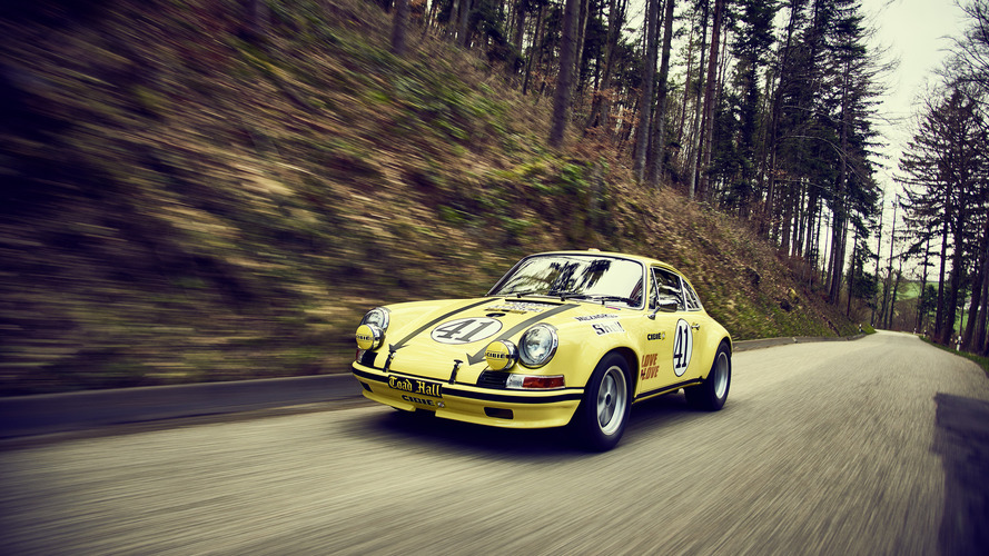 Porsche restaure la 911 vainqueur des 24 Heures du Mans 1972
