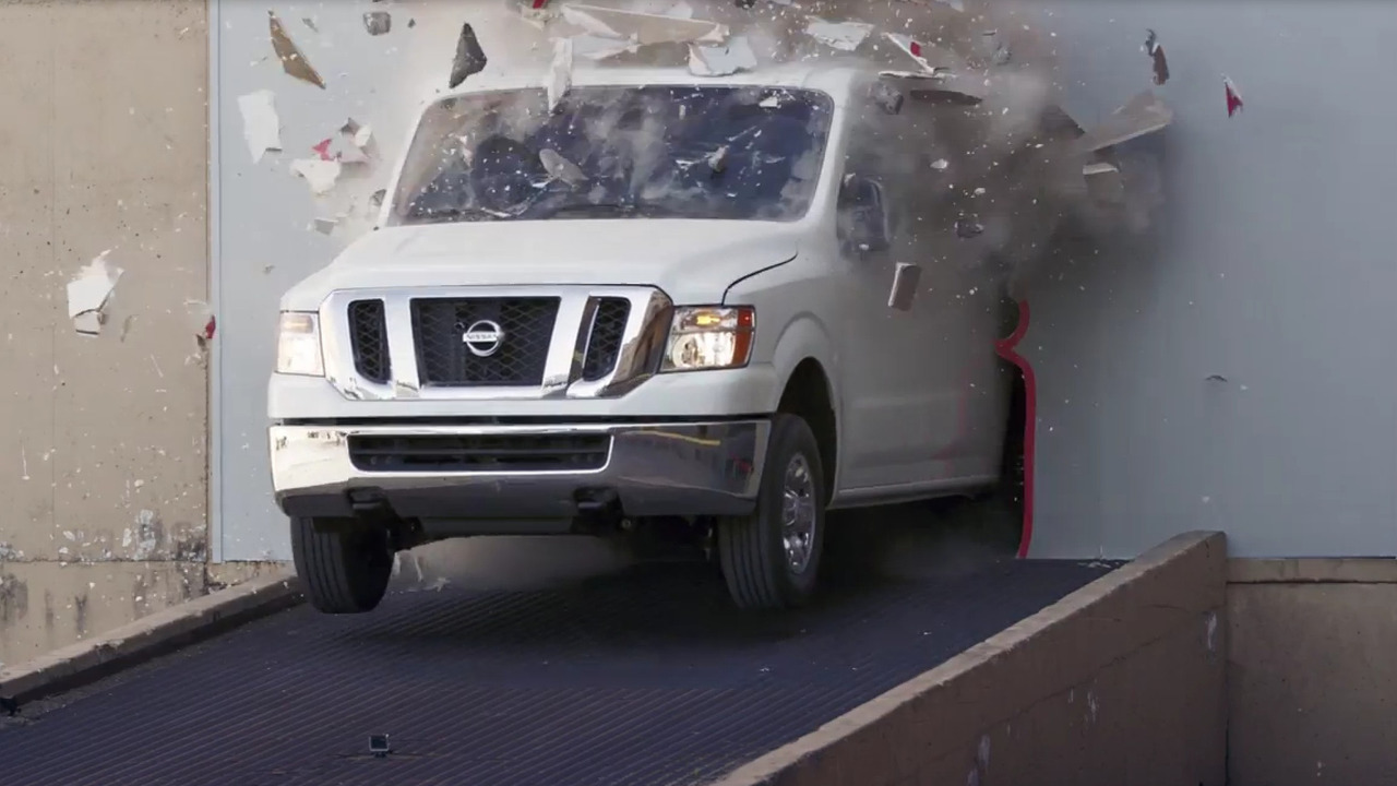 Nissan NV Cargo Van drift machine