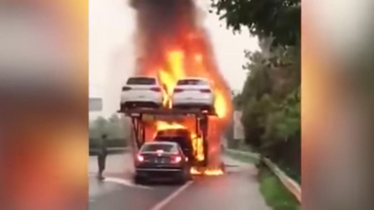 Flaming Transporter