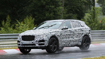 Jaguar F-Pace front fascia revealed in latest spy photos