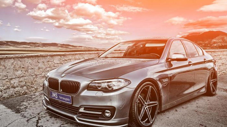 BMW 5-Series gets tuned by JMS