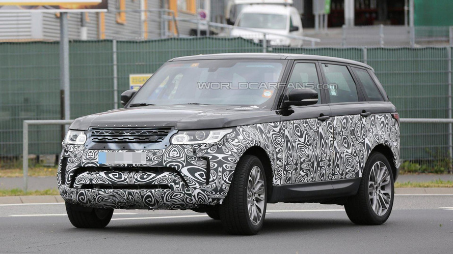 Range Rover Sport facelift spied for the first time