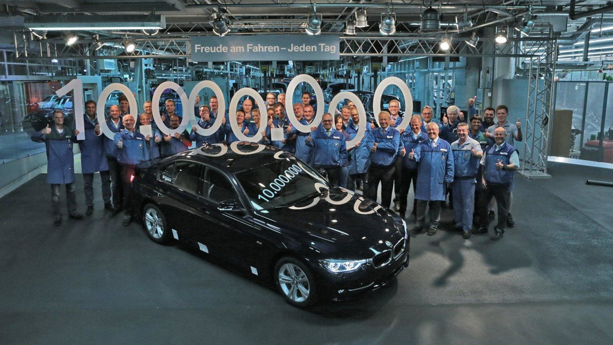 BMW builds their 10 millionth 3-Series Sedan