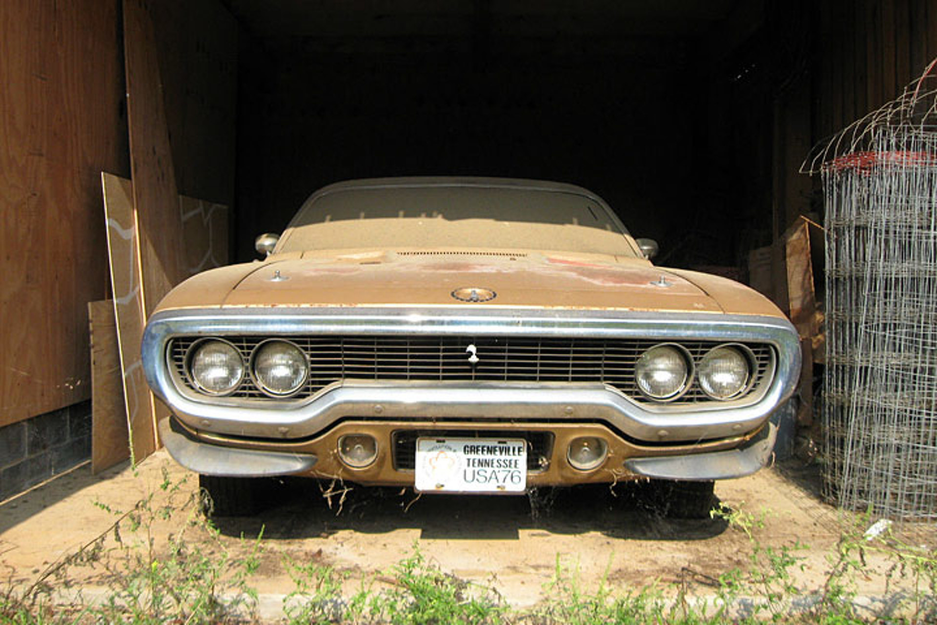This Plymouth Road Runner Is A Barn Find Beauty