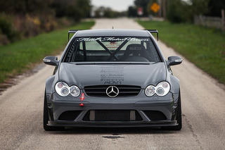 This Modified Mercedes CLK63 is Truly a Terrifying Machine