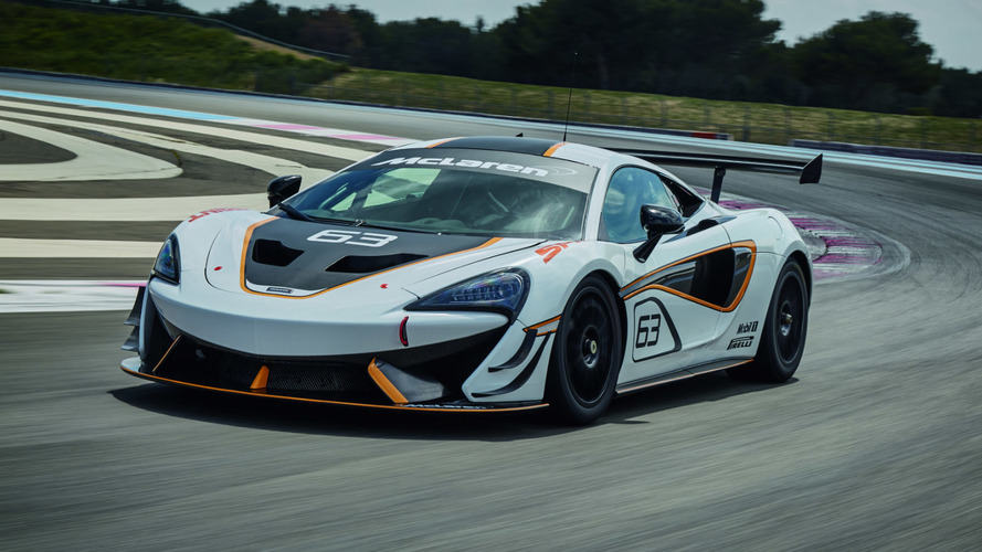 McLaren reveals 570S Sprint track car ahead of Goodwood