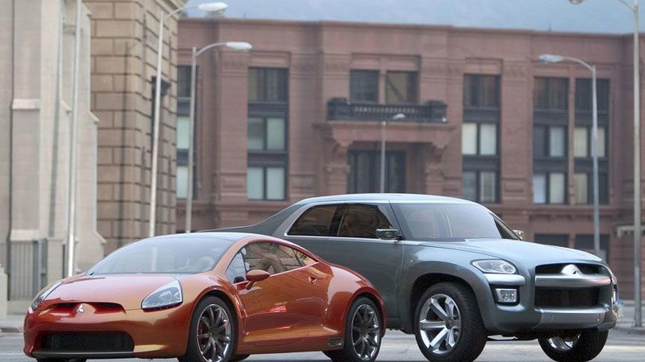 Mitsubishi Eclipse Concept-E and Sport Truck Concept