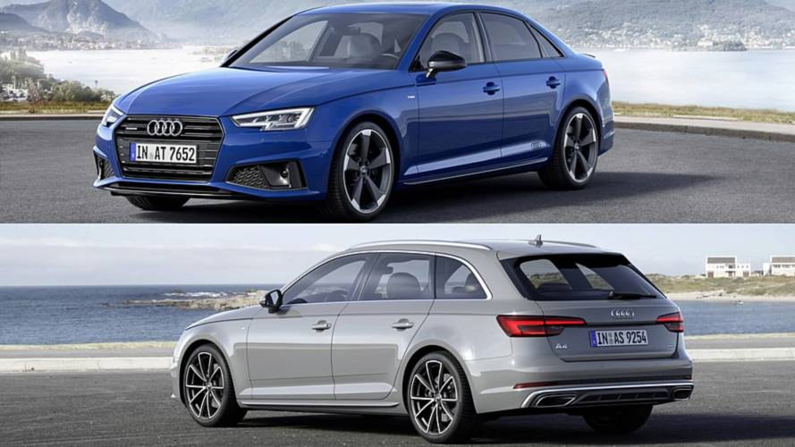 2019 Audi A4 Saloon, Avant unveiled in Europe with discreet changes