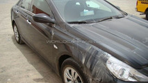 2010 Hyundai Sonata spy photo in Dubai