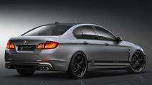 BMW 5-Series F10 aerodynamic-kit preview by Prior Design, 1024, 04.04.2011