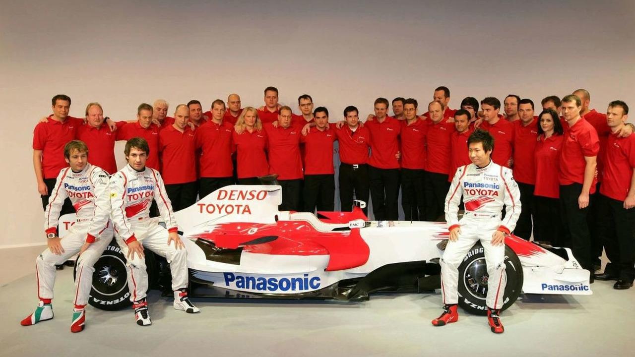Toyota's 2009 F1 Team
