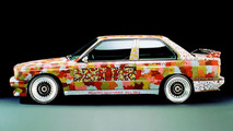 Michael Jagamara Nelson (AUS) 1989 BMW M3 Group A Race Version art car - 1600