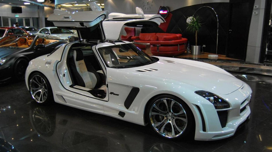 Mercedes SLS AMG widebody styling by FAB Design