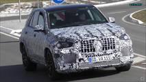 Mercedes-AMG GLE 53 ve 63 Casus Fotoğrafları