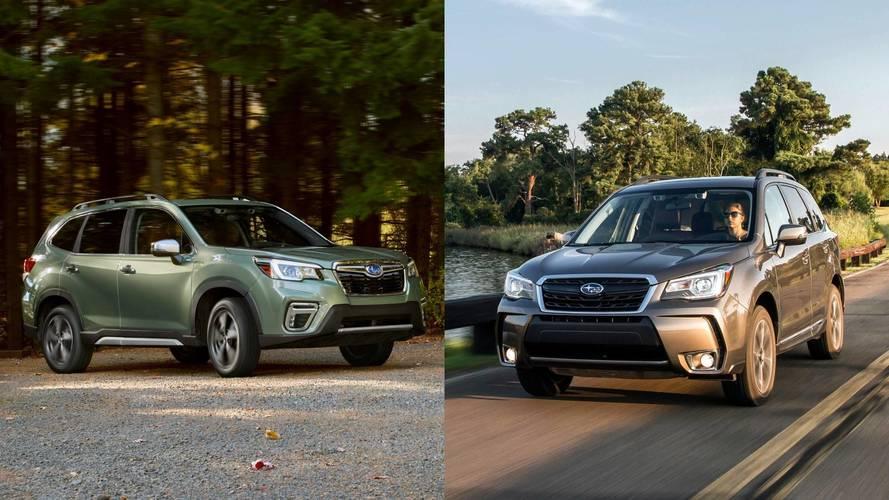 Eski vs. Yeni: 2019 Subaru Forester