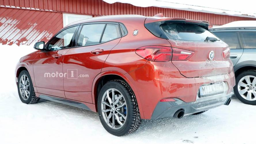 BMW X2 M35i Spy Photos