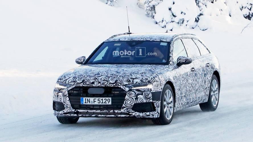 Audi A6 Avant 2018: nuevas fotos del interior
