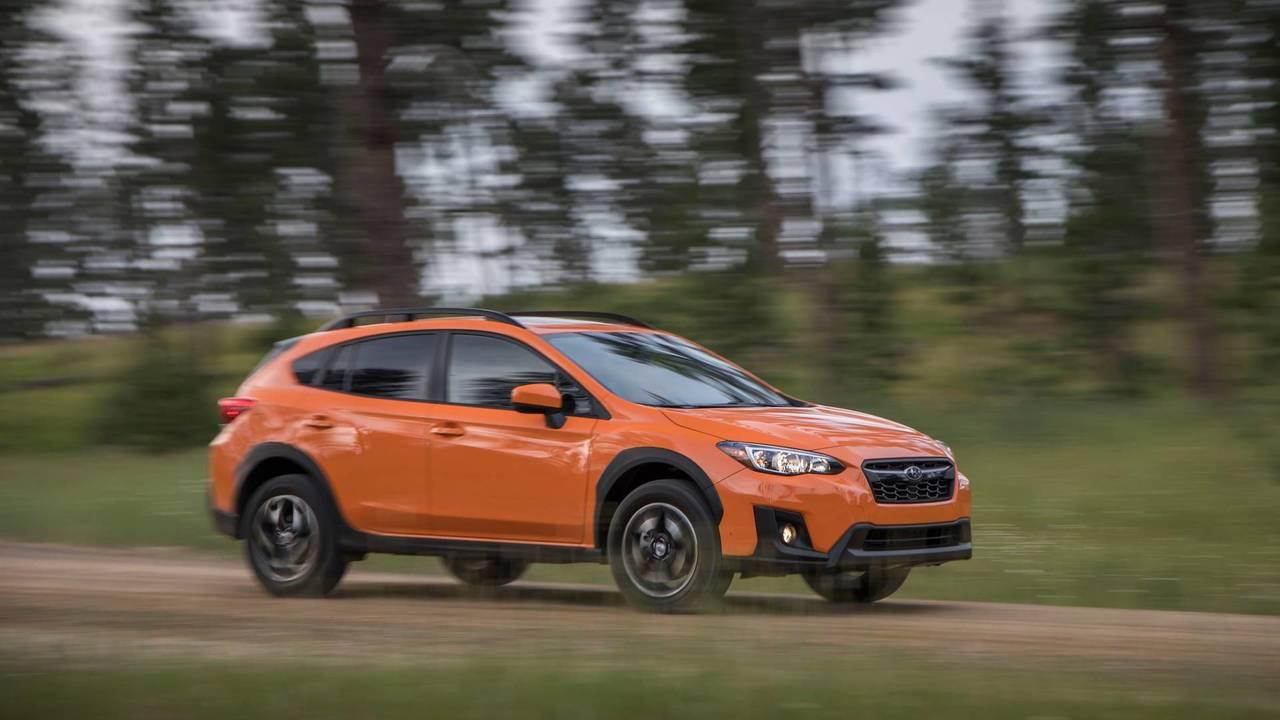 2. Compact SUV/Crossover: Subaru Crosstrek.