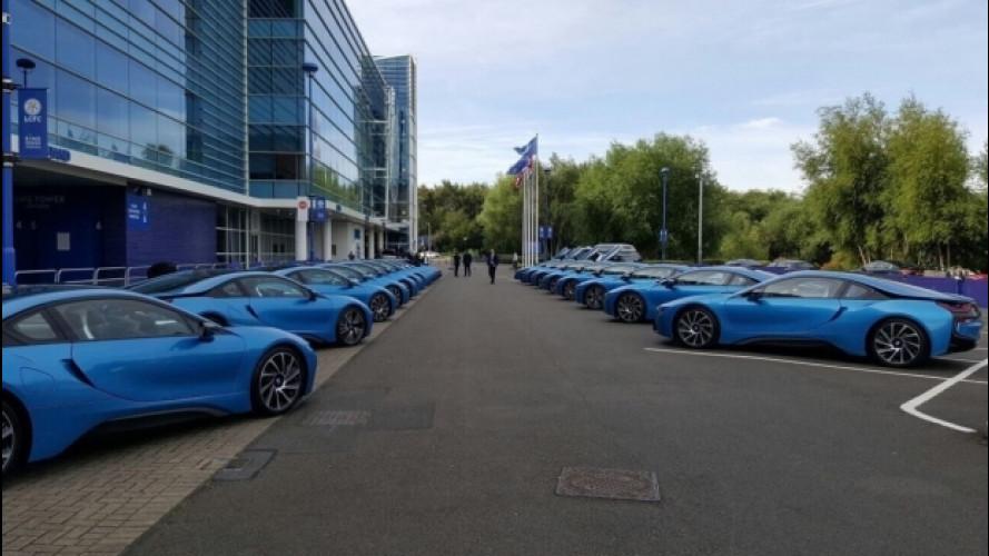 BMW i8, 19 supercar per i campioni del Leicester