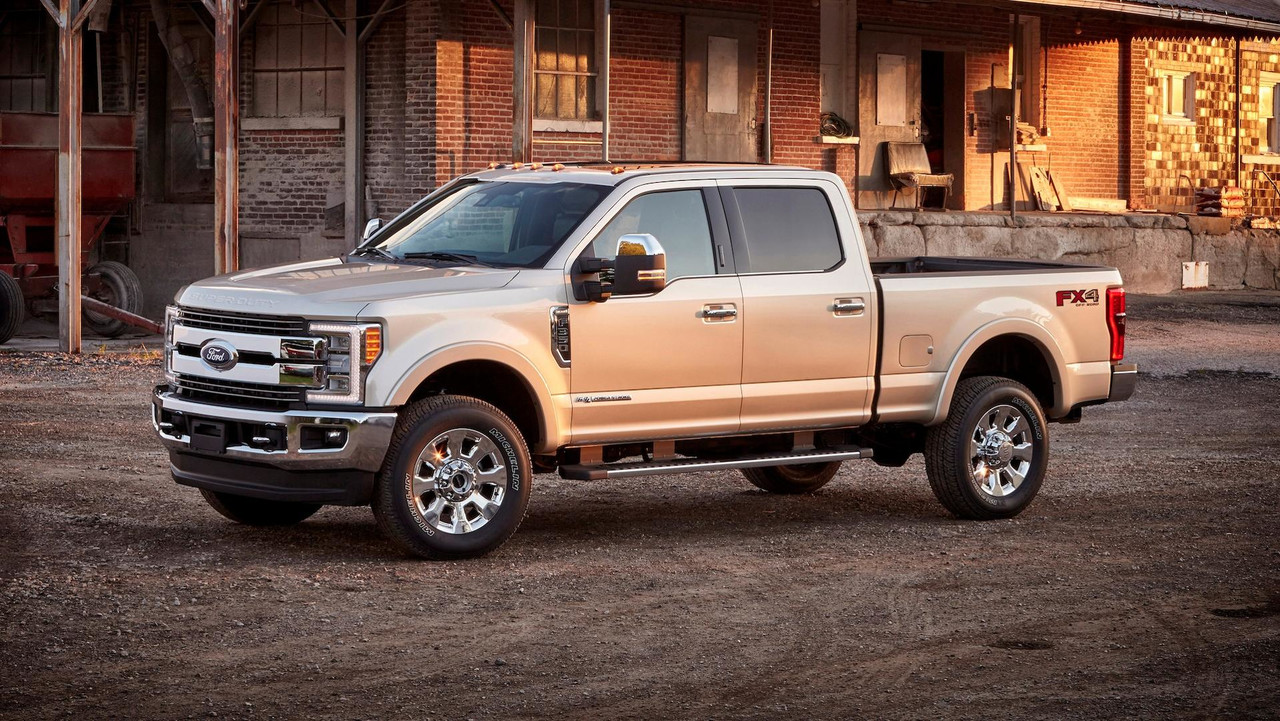 4. Full-Size One-Ton Pickup: Ford F-350