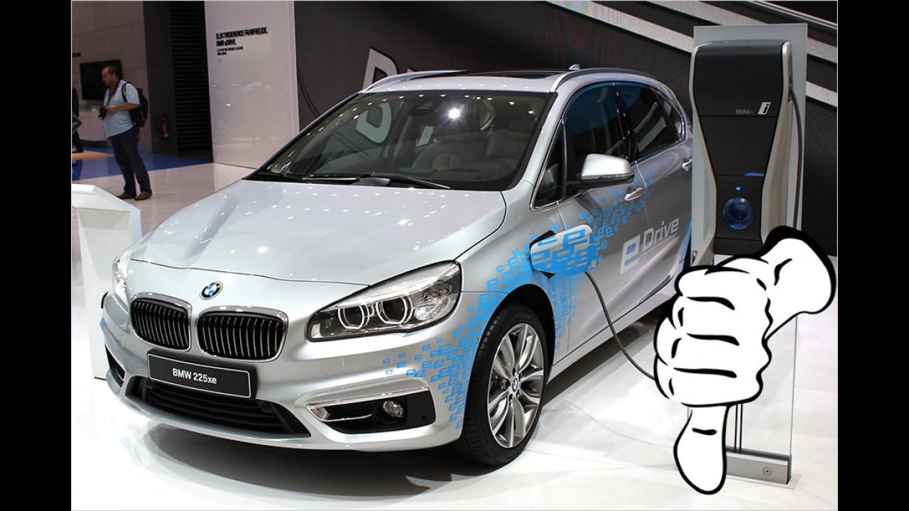 Flop: BMW 225xe