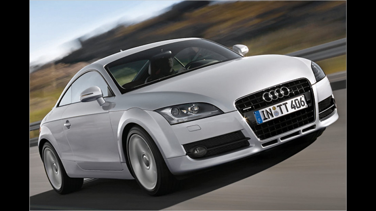 Sportwagen/Cabrio, 100.001 bis 150.000 Kilometer: Audi TT (2006)