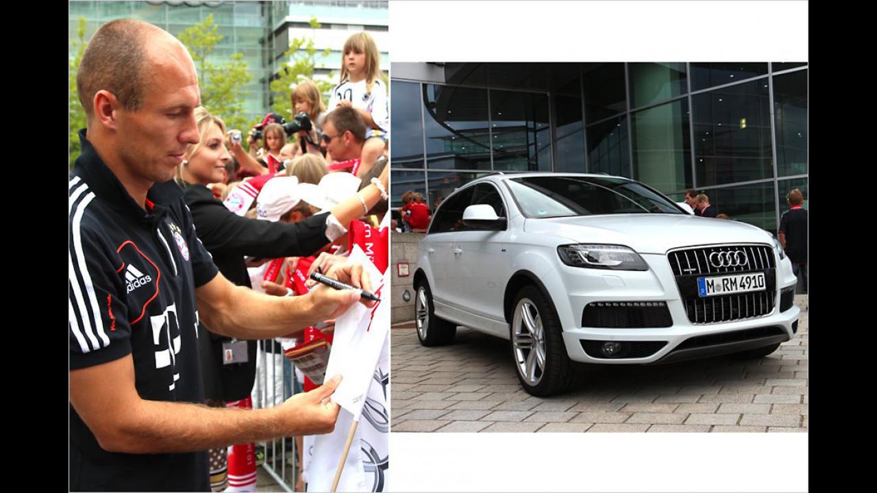 Arjen Robben: Audi Q7
