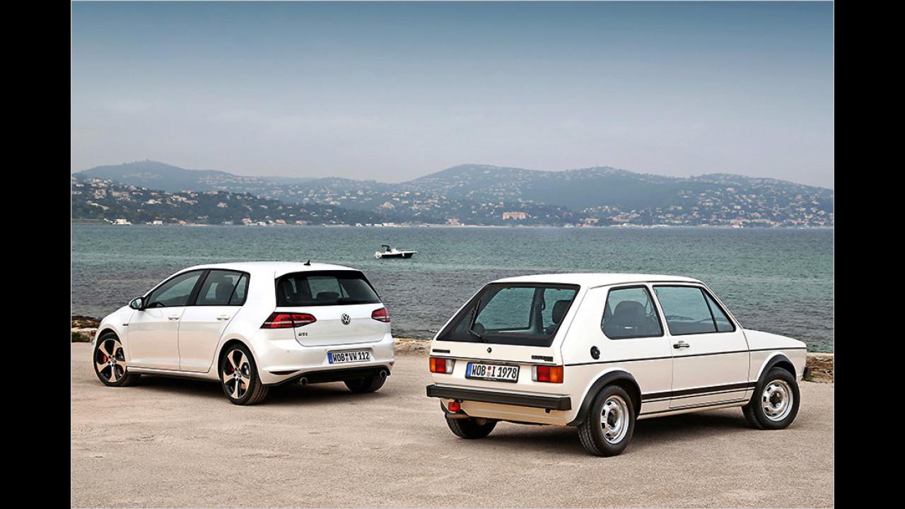 Vier Jahrzehnte VW Golf