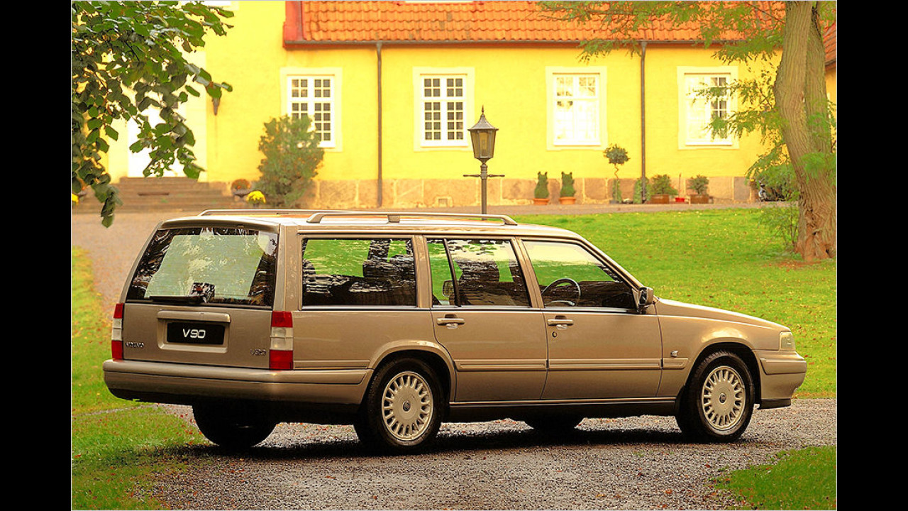 Volvo V90: Der letzte Kombi mit Hinterradantrieb