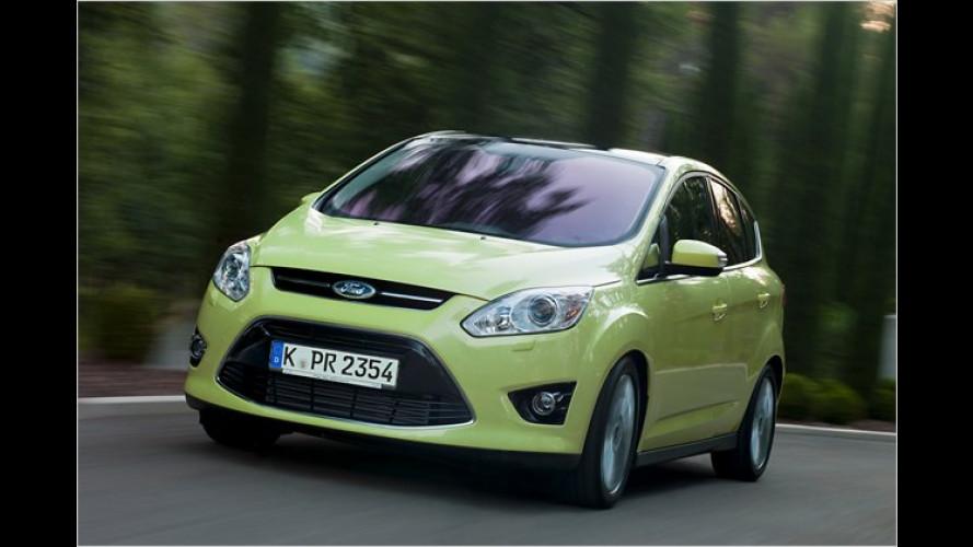 Ford C-Max und Grand C-Max: Marktstart und Preise fix
