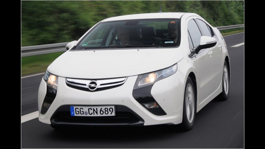 Opel Ampera: Porsche-Drehmoment und Mofa-Verbrauch