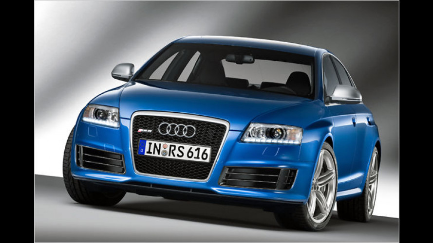 Jetzt auch als Limousine: Audi RS6 mit 580-PS-Biturbo