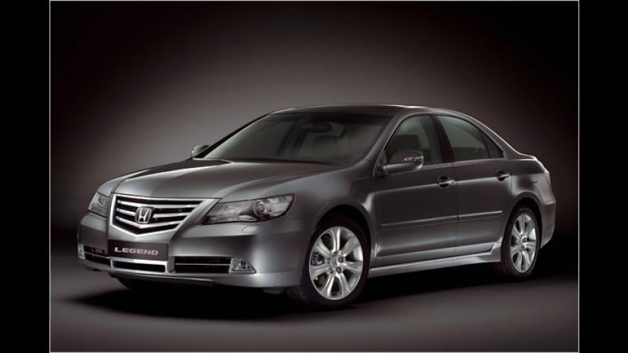 Legende frisch gemacht: Facelift für den großen Honda