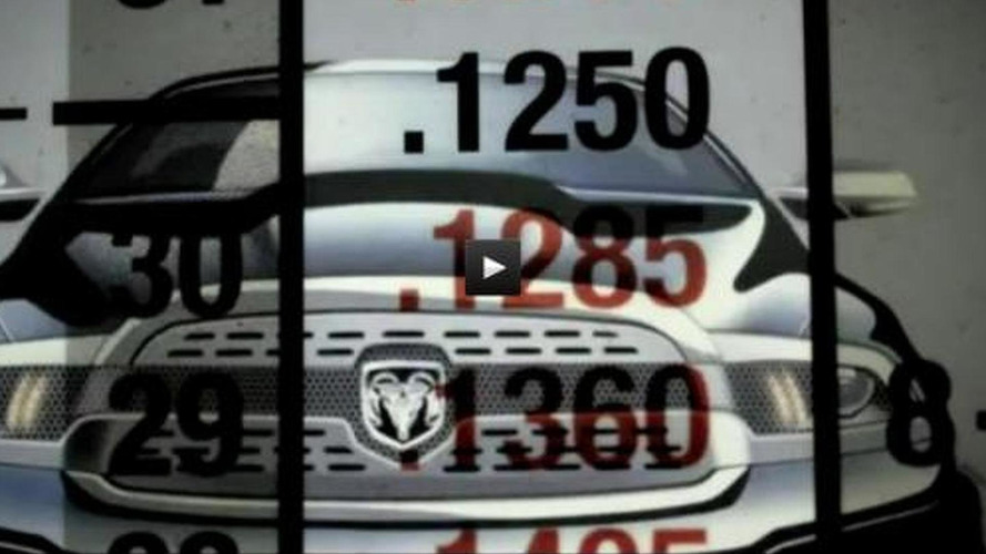Ram shows a mysterious rendering in a promotional video, is it the next Dakota?