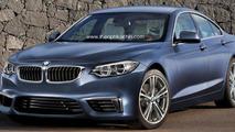 BMW 2-Series Gran Coupe artist rendering 16.09.2013