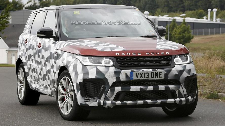 2015 Range Rover Sport RS returns in new spy pics
