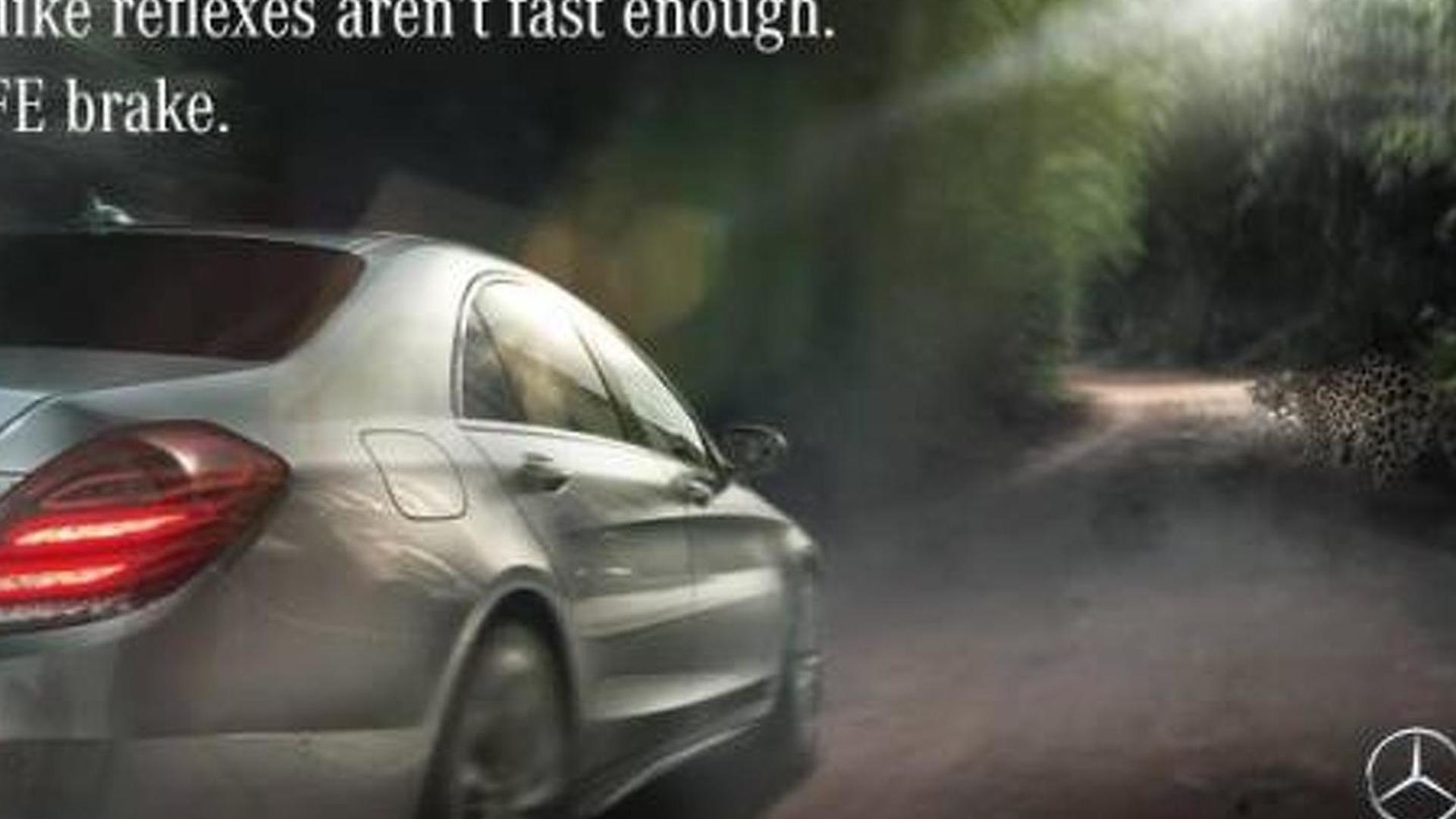 Mercedes benz politely responds to jaguar 39 s ad for Comercial mercedes benz