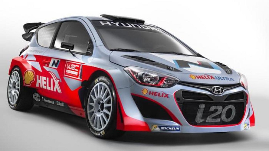 2014 Hyundai i20 WRC revealed, 'N' performance lineup announced