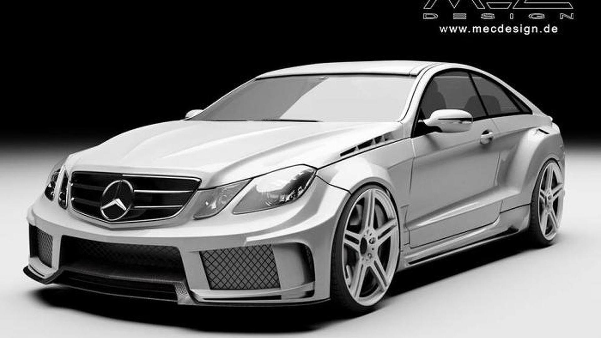 Mec design previews mercedes benz e class w207 widebody kit for Mercedes benz w207
