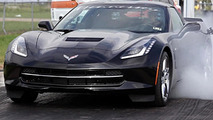2014 Corvette Stingray hits the dragstrip 01.10.2013
