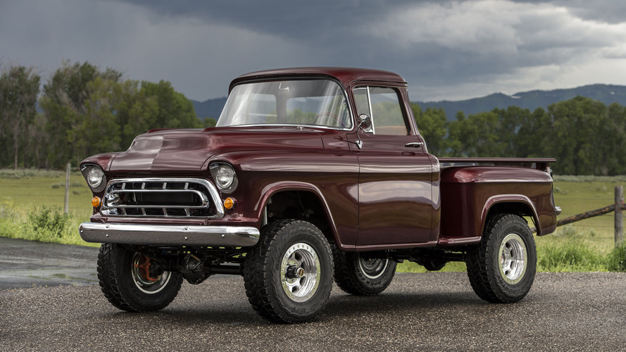 Vintage Work Trucks >> Check out this 1950s Chevy NAPCO retromod conversion