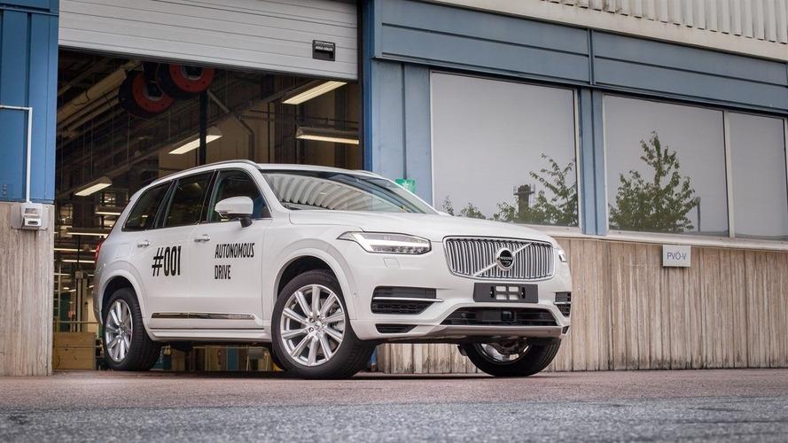Volvo lance les tests de son XC90 autonome en conditions réelles