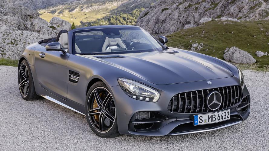 Mercedes-AMG GT Roadster Paris Fuarı lansmanı öncesi gözler önüne çıktı