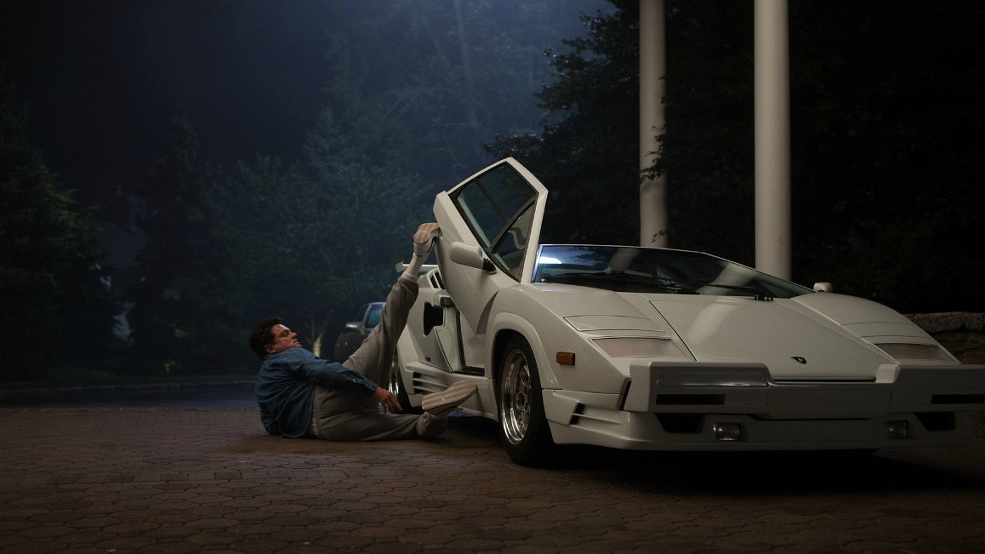 Wolf of wall street directors wrecked a real lamborghini for Wall street motor cars