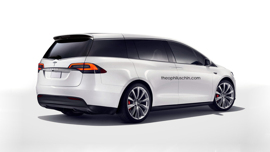 Tesla Minivan Concept Theophilus Chin