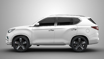 Concept Ssangyong LIV-2 SUV