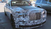 Rolls-Royce Phantom Spy Pics