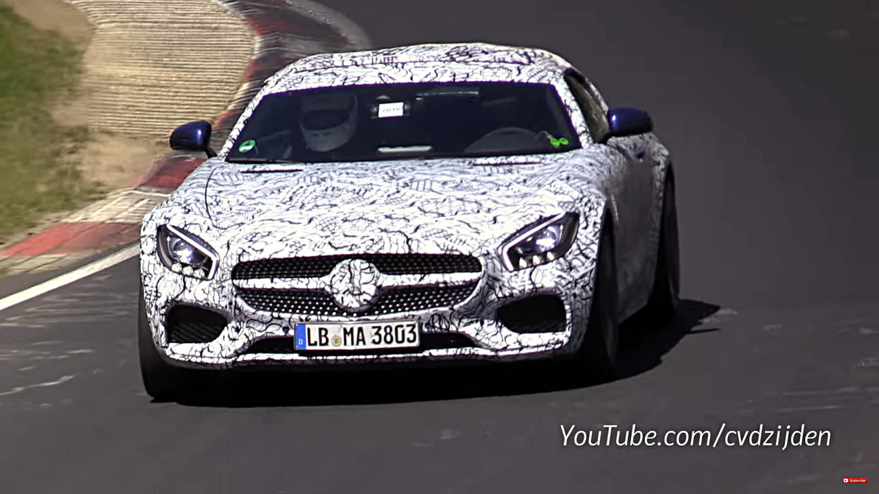 Mercedes-AMG GT C Spy Video