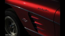 Chevrolet Big Mazmanian Corvette Drag Racing Car